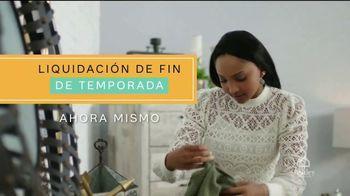 Ashley HomeStore Liquidación de Fin de Temporada TV Spot, '70 por ciento de descuento' [Spanish]