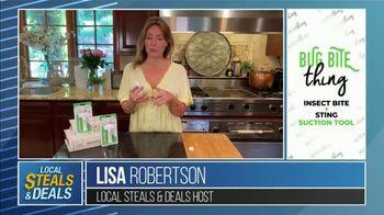 Local Steals & Deals TV Spot, 'Bug Bite' Featuring Lisa Robertson - Thumbnail 2