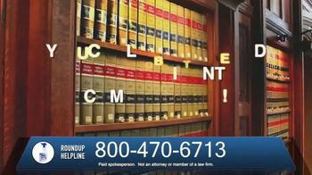 The O'Neal Law Firm TV Spot, 'Roundup Helpline' - Thumbnail 3