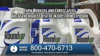 The O'Neal Law Firm TV Spot, 'Roundup Helpline' - Thumbnail 4