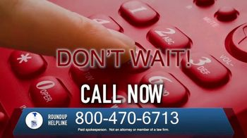 The O'Neal Law Firm TV Spot, 'Roundup Helpline' - Thumbnail 7