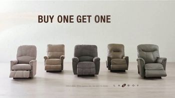 La-Z-Boy Anniversary Sale TV Spot, 'Buy One, Get One Recliners: $599' - Thumbnail 5