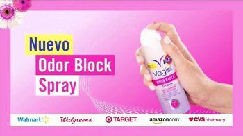 Vagisil Sensitive Scents TV Spot, 'Así de fresca: Odor Block Spray' [Spanish] - Thumbnail 6