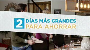 Ashley HomeStore TV Spot, 'Dos días más grandes para ahorrar' [Spanish] - Thumbnail 2