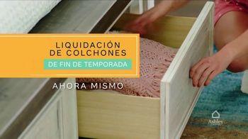 Ashley HomeStore Liquidación de Colchones de Fin de Temporada TV Spot, 'Ahora mismo' [Spanish] - Thumbnail 2