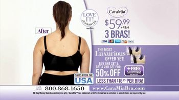 CaraMia Bra TV Spot, 'Supporting and Flattering: Three Bras' - Thumbnail 8