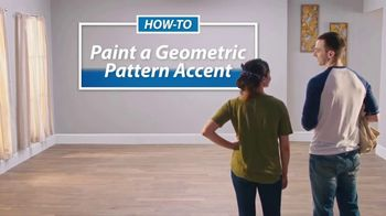 Sherwin-Williams TV Spot, 'Geometric Pattern Accent'