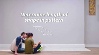 Sherwin-Williams TV Spot, 'Geometric Pattern Accent' - Thumbnail 5