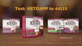 SlimFast Keto Fat Bomb Peanut Butter Cup TV Spot, 'Have One: Text' - Thumbnail 8