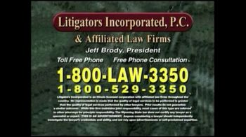 Litigators Incorporated TV Spot, 'Medical Personnel Can Make Mistakes' - Thumbnail 9