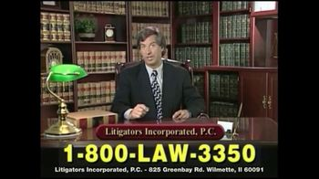 Litigators Incorporated TV Spot, 'Medical Personnel Can Make Mistakes' - Thumbnail 5
