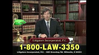 Litigators Incorporated TV Spot, 'Medical Personnel Can Make Mistakes' - Thumbnail 6