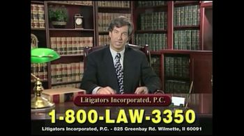Litigators Incorporated TV Spot, 'Medical Personnel Can Make Mistakes' - Thumbnail 7