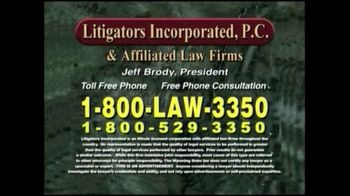 Litigators Incorporated TV Spot, 'Medical Personnel Can Make Mistakes' - Thumbnail 8
