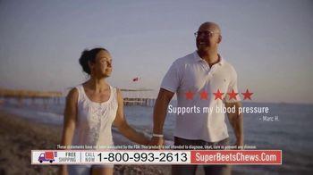 SuperBeets Soft Chews TV Spot, 'SuperBeets Chews Convenient on the go blood pressure energy support D3'
