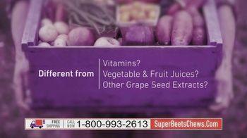 SuperBeets Soft Chews TV Spot, 'SuperBeets Chews Convenient on the go blood pressure energy support D3' - Thumbnail 4