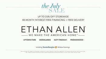 Ethan Allen The July Sale TV Spot, '25 Percent Storewide' - Thumbnail 4