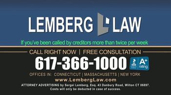Lemberg Law LLC TV Spot, 'Student Loan Debt Harassment' - Thumbnail 5