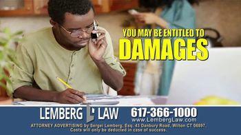 Lemberg Law LLC TV Spot, 'Student Loan Debt Harassment' - Thumbnail 2