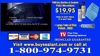 Flitz Premium Polishes Ceramic Sealant TV Spot, 'Exposed' - Thumbnail 7
