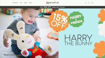 BabyFirst Harry & Friends TV Spot, '15 Percent Off' - Thumbnail 3