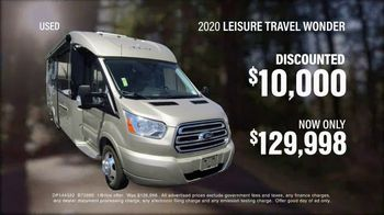 La Mesa RV TV Spot, 'Used Vehicle: 2020 Leisure Travel Wonder'