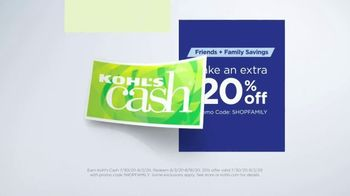 Kohl's Friends + Family Sale TV Spot, 'Keurig, Bedding and Activewear' - Thumbnail 8