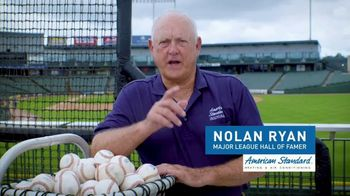 American Standard TV Spot, 'Stay Cool' Featuring Nolan Ryan - Thumbnail 7