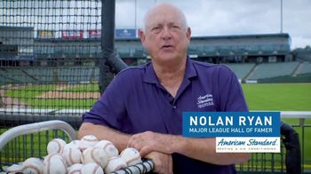 American Standard TV Spot, 'Stay Cool' Featuring Nolan Ryan