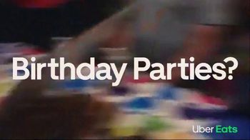 Uber Eats TV Spot, 'Birthday Parties? Off' Song by Mark Morrison - Thumbnail 4