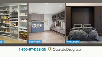 Closets by Design TV Spot, 'We Do It All' - Thumbnail 6