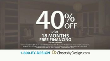 Closets by Design TV Spot, 'We Do It All' - Thumbnail 4