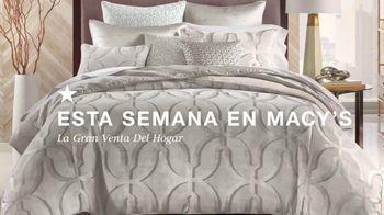 Macy's La Gran Venta del Hogar TV Spot, 'Almohades y edredones' [Spanish] - Thumbnail 1
