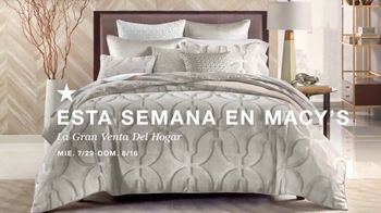 Macy's La Gran Venta del Hogar TV Spot, 'Almohades y edredones' [Spanish] - Thumbnail 2