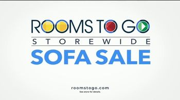 Rooms to Go Storewide Sofa Sale TV Spot, 'Big Savings: Fabric and Sleepers' Song by Junior Senior - Thumbnail 8