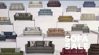 Rooms to Go Storewide Sofa Sale TV Spot, 'Big Savings: Fabric and Sleepers' Song by Junior Senior