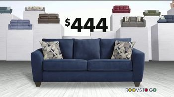 Rooms to Go Storewide Sofa Sale TV Spot, 'Big Savings: Fabric and Sleepers' Song by Junior Senior - Thumbnail 5