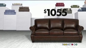 Rooms to Go Storewide Sofa Sale TV Spot, 'Big Savings: Fabric and Sleepers' Song by Junior Senior - Thumbnail 6