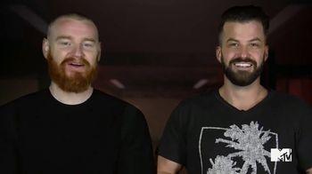 GEICO TV Spot, 'MTV: Face Off' Featuring Johnny Devenanzio, Wes Bergmann