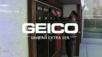 GEICO TV Spot, 'MTV: Face Off' Featuring Johnny Devenanzio, Wes Bergmann - Thumbnail 2