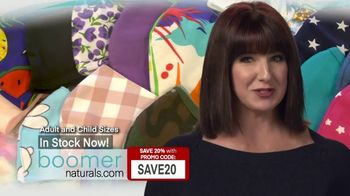 Boomer Naturals TV Spot, 'Comfortable, Breathable and Protective' - Thumbnail 6