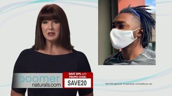 Boomer Naturals TV Spot, 'Comfortable, Breathable and Protective'