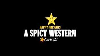 Carl's Jr. Spicy Western Bacon Cheeseburger TV Spot, 'Western Gone Spicy' - Thumbnail 1