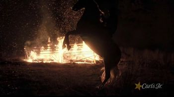 Carl's Jr. Spicy Western Bacon Cheeseburger TV Spot, 'Western Gone Spicy' - Thumbnail 5