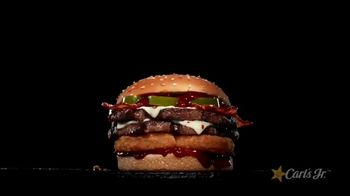 Carl's Jr. Spicy Western Bacon Cheeseburger TV Spot, 'Western Gone Spicy' - Thumbnail 8