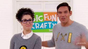 Peacock TV TV Spot, 'The Big Fun Crafty Show' - Thumbnail 8