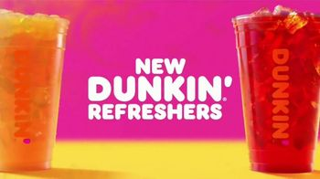 Dunkin' Refreshers TV Spot, 'Get Your Glow Back: 200 Calories'