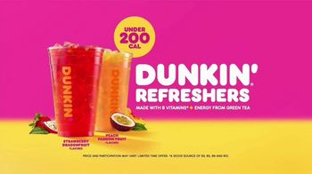 Dunkin' Refreshers TV Spot, 'Get Your Glow Back: 200 Calories' - Thumbnail 8