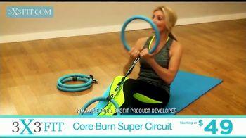 3X3FIT Fitness System TV Spot, 'Core Burn Super Circuit' - Thumbnail 1