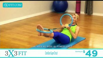 3X3FIT Fitness System TV Spot, 'Core Burn Super Circuit' - Thumbnail 3